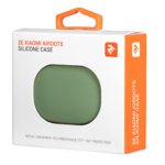 Чохол 2Е для Xiaomi AirDots, Pure Color Silicone (1.5mm), Light green