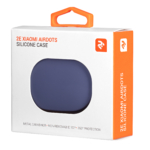 Чохол 2Е для Xiaomi AirDots, Pure Color Silicone (1.5mm), Lavender