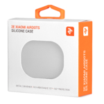 Чохол 2Е для Xiaomi AirDots, Pure Color Silicone (1.5mm), White