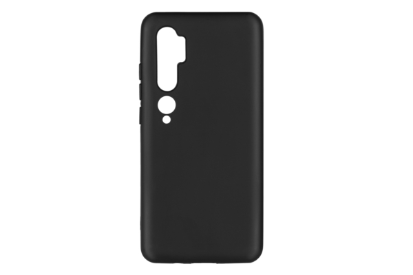 Чохол 2Е Basic для Xiaomi Mi Note 10, Soft feeling, Black