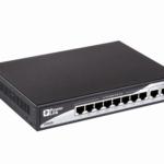 Комутатор 2E PowerLink SP802G 10xGE (8xGE PoE, 2xGE Uplink, 150W), некерований