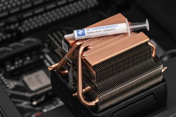 Термопаста 2Е THERMOBOOST TB5-2, (4.63W/m-K), 2 гр, сіра