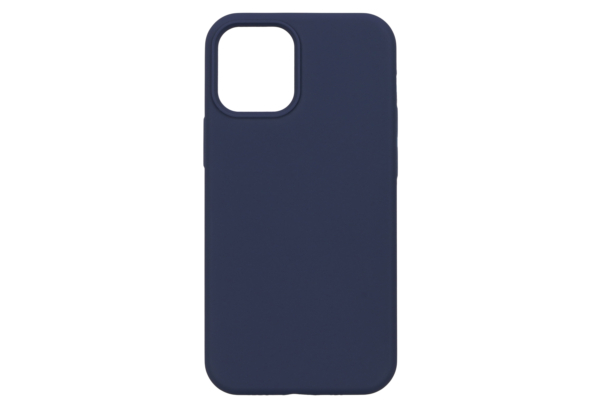Чохол 2Е для Apple iPhone 12 (5.4″), Liquid Silicone, Midnight Blue
