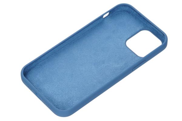 Чохол 2Е для Apple iPhone 12 (6.1″), Liquid Silicone, Cobalt Blue