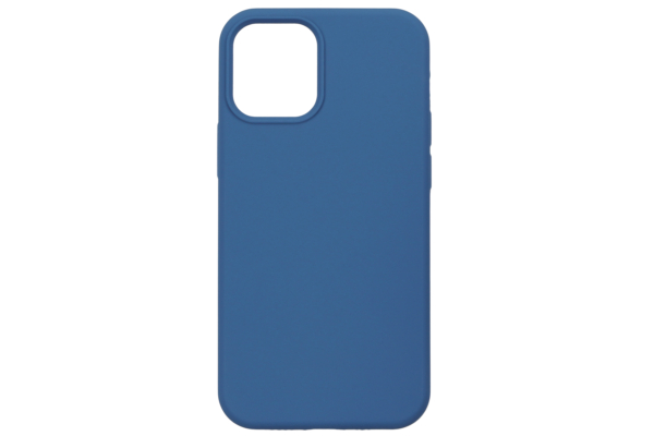Чохол 2Е для Apple iPhone 12 (6.1″), Liquid Silicone, Cobalt Blue