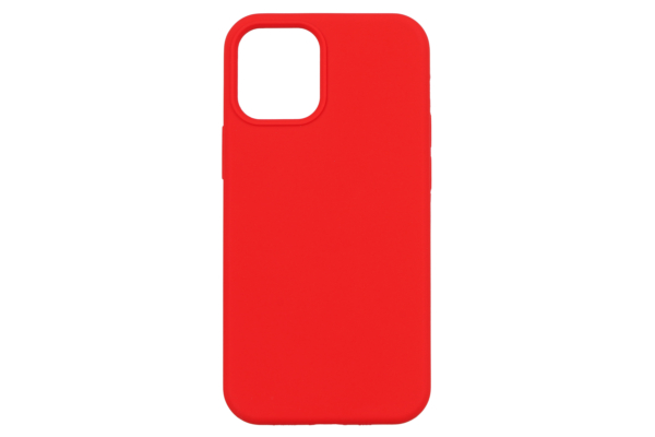 Чохол 2Е для Apple iPhone 12 (6.1″), Liquid Silicone, Red
