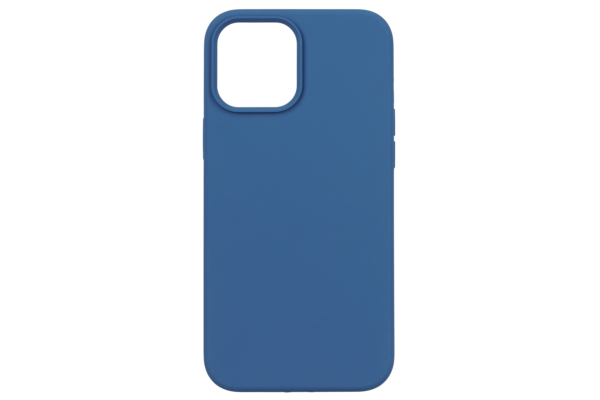Чохол 2Е для Apple iPhone 12 Pro Max (6.7″), Liquid Silicone, Cobalt Blue
