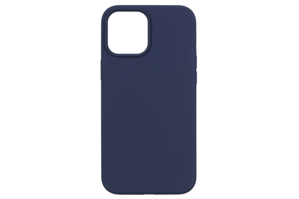 Чохол 2Е для Apple iPhone 12 Pro Max (6.7″), Liquid Silicone, Midnight Blue