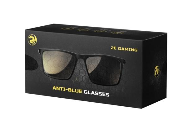 Захисні окуляри 2E Gaming Anti-blue Glasses Black-Blue