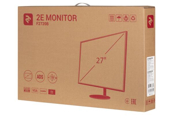 Монітор 2E F2720B Black