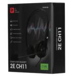 Гарнітура для ПК 2E CH11 USB Black