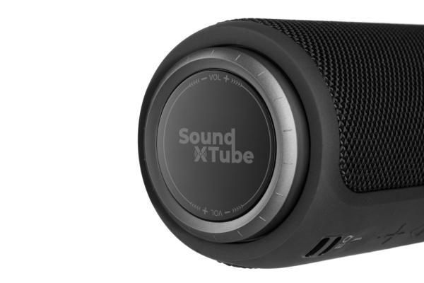 Акустична система 2E SoundXTube TWS, MP3, Wireless, Waterproof Black