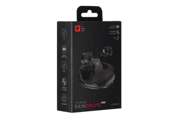Навушники 2E RainDrops Light True Wireless, Black