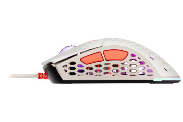 Миша ігрова 2E Gaming HyperSpeed Lite, Retro White