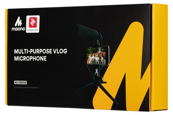Мікрофон з триподом для мобільних пристроїв Maono by 2Е MM011
