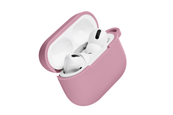 Чохол 2Е для навушників Apple AirPods Pro, Pure Color Silicone (2.5mm), Pink