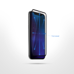 Захисне скло 2E для Huawei P Smart 2021, 2.5D FCFG, black border
