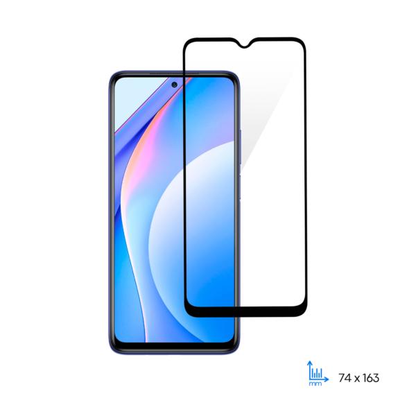Захисне скло 2E для Xiaomi Mi 10T, 2.5D FCFG, Black border