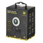 Веб-камера 2E Gaming QUAD HD 2K LED