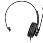 Гарнітура для ПК 2E CH12 Mono On-Ear USB Black