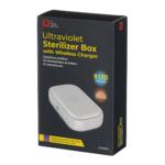 Ультрафіолетовий стерилізатор 2E з бездротовою зарядкою UVSB040, Qi