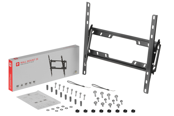Кріплення з кутом нахилу для ТВ 32-65″ 2E N448