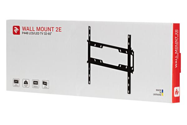 Фіксоване кріплення для ТВ 32-65″ 2E P448