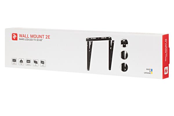 Поворотне кріплення для ТВ 32-65″ 2E T449