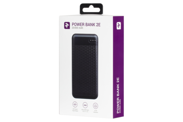 Power Bank 2Е 20000 мАг Black